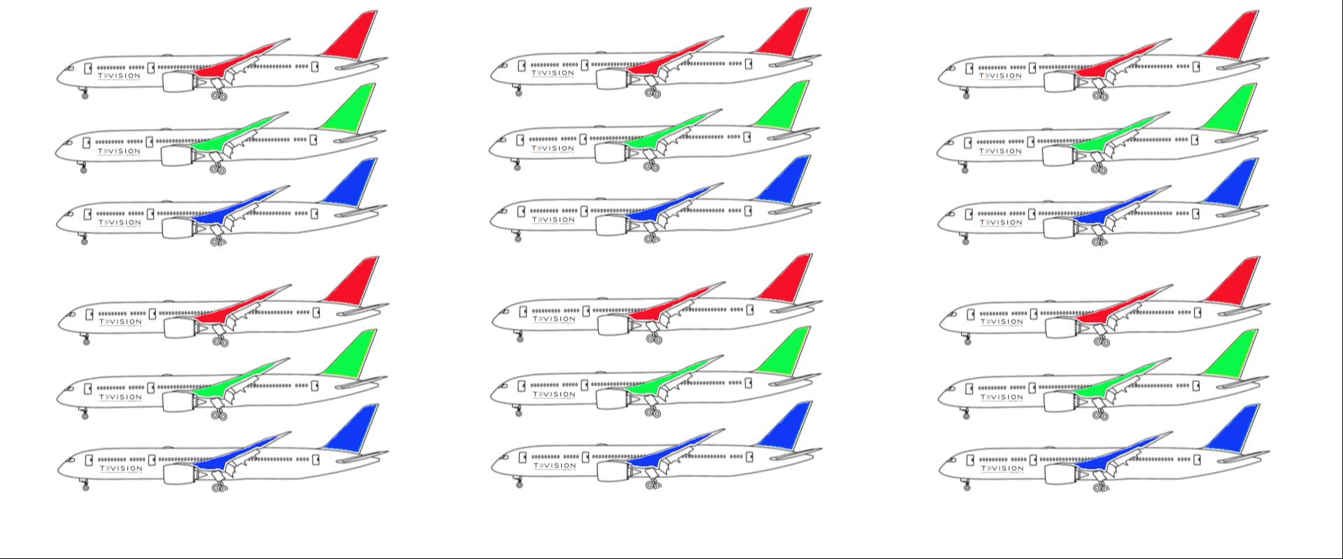 企業CMランキング(航空)