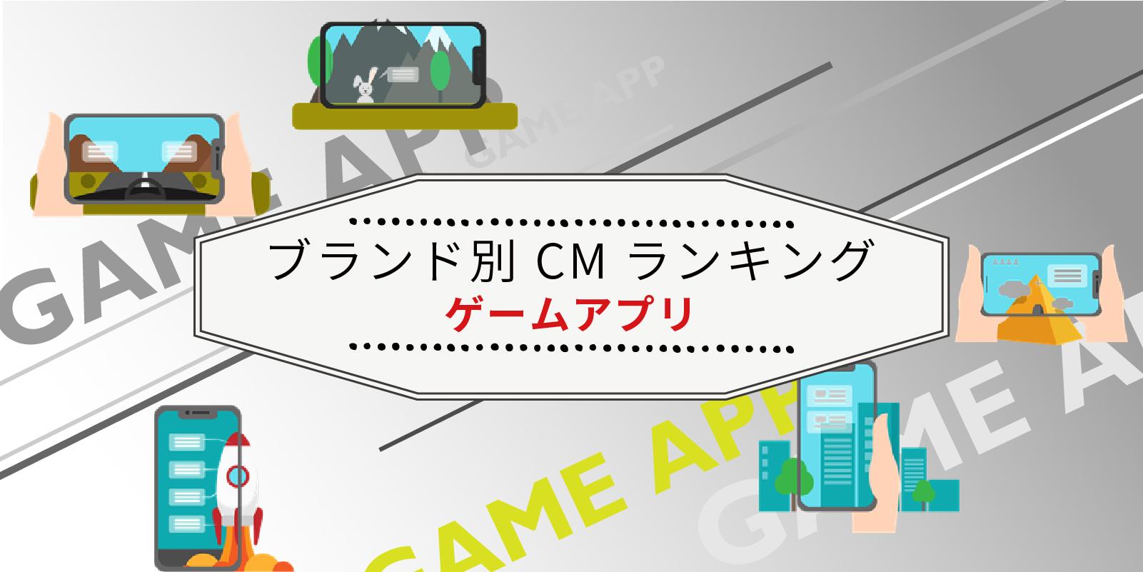 ブランド別 2020年3月~5月CM視聴質ランキング(ゲームアプリ)