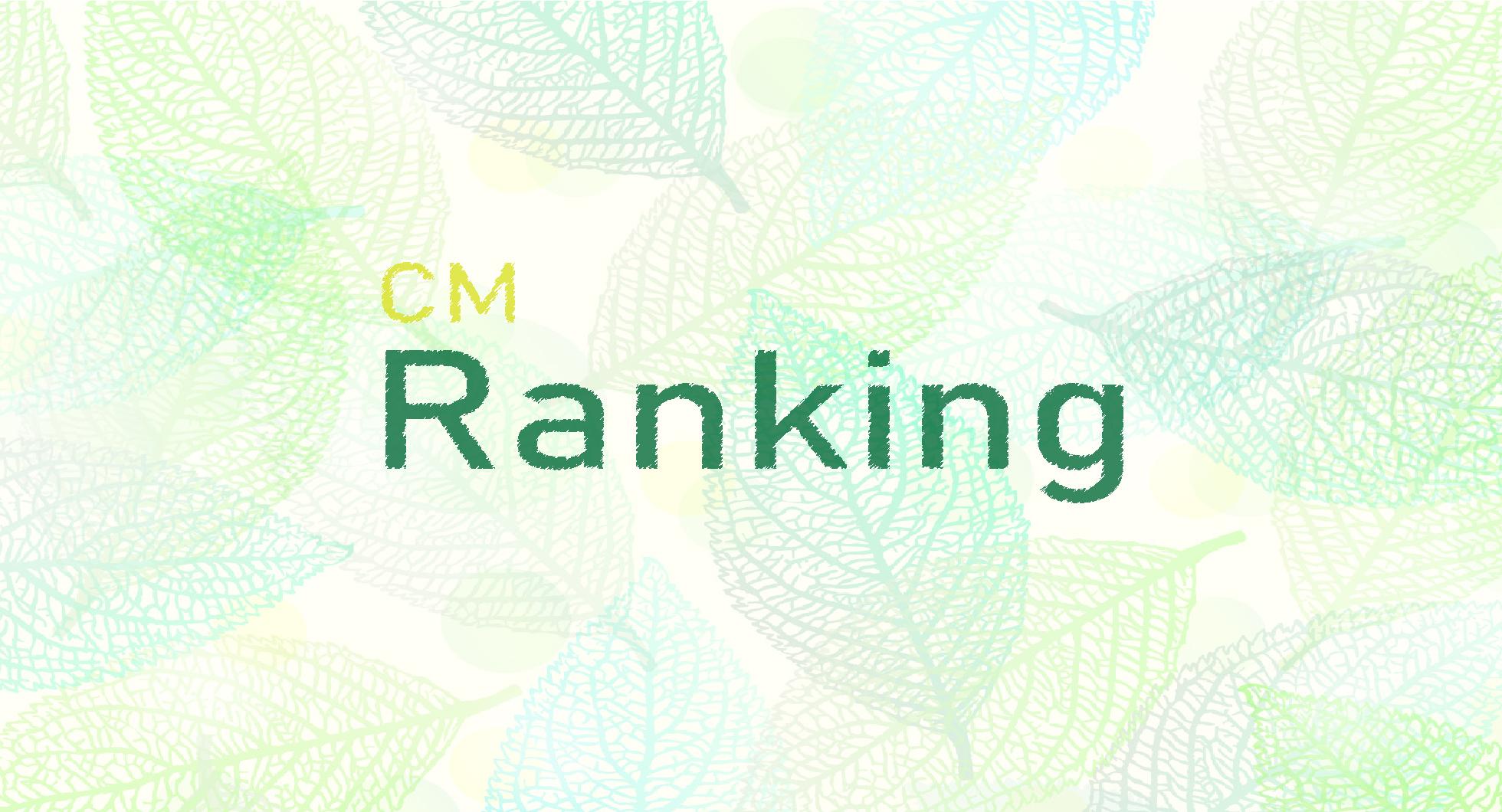 企業CMランキング(2020年5月)