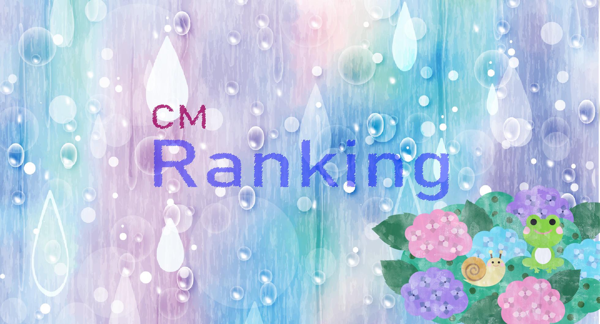 企業CMランキング(2020年6月)